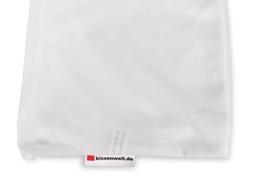 Kissenbezug  FLEXI elastische Kissenhülle mit Reißverschluss in 11 Größen