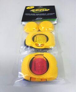 SpeedPlay Zero Walkable Cleats for Zero and Zero Aero Pedals Green or Yellow
