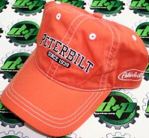 Peterbilt Motors Unstructured Burnt Orange Cap