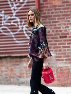 Large Zara Felpa Olivia Jacquard 2878 paillette 297 Palermo pull L Fz1zqgw