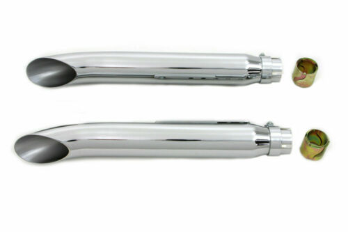 Universal Turn Out Muffler Set for Harley Davidson by V-Twin