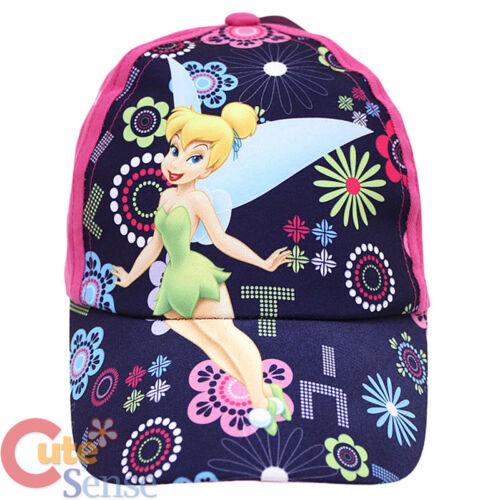 Disney Tinkerbell Fairies Baseball Cap Kids Hat Purple Flora Fairy Tinker bell