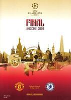 * 2008 CHAMPIONS LEAGUE FINAL - MAN UTD v CHELSEA *