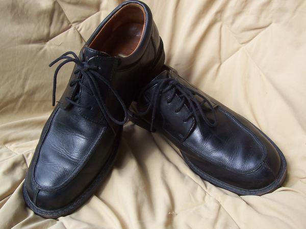 JOHNSTON & MURPHY 8.5M Black SUPER COMFORT Oxfords LaceUp shoes Professional Look