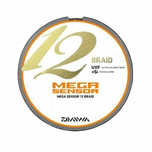 Daiwa PE LINE MEGA SNSOR 12Braid 300m  6.0 Multi  pesca LINE From JAPAN