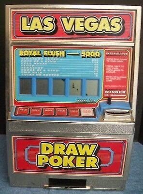 Draw Poker Machine