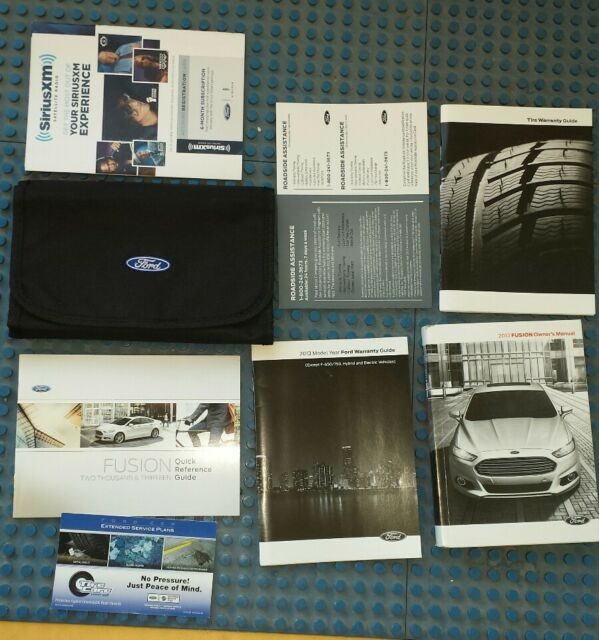 17 2017 Ford Fusion Owners Manual With Navigation Sync Manual Guide