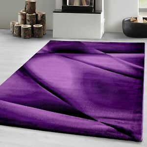 Teppich modern Designer Wohnzimmer Abstrakt Wellen Linien Muster ...