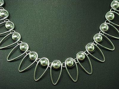 835 Silber Collier / Halskette / Echtsilber / 43,5cm / 40,1g