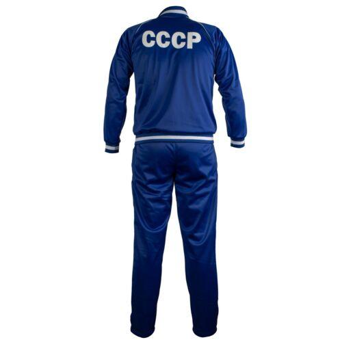 Sowjet Union Cccp USSR Retro Fußball Trainingsanzug Reißverschluss Jacke Herren