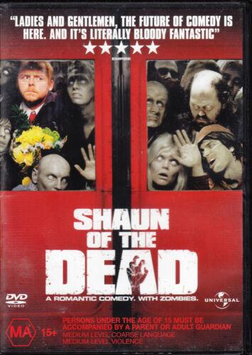 1 of 1 - Shaun Of The Dead - DVD REGION 2, 4