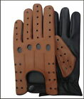 TOP QUALITY REAL SOFT LEATHER MEN'S DRIVING GLOVES WITHOUT LINING