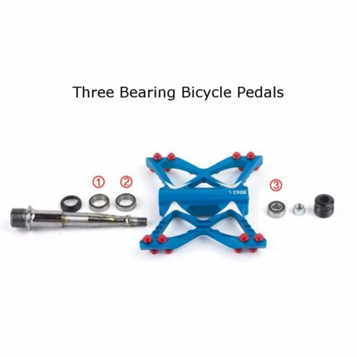 Bicycle Pedals Bike Bearing MTB Road Pedal Aluminum Alloy Ultra-light Cycling S1