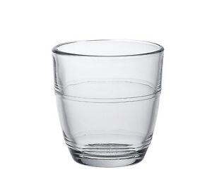 6x Duralex Gigogne Gläser Trinkglas Glas temperiert 9 cl aus Frankreich | eBay