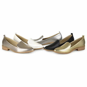 c16ace6c075 Brinley Co Womens Pointed Toe Faux Leather Laser Cut Stacked Heel ...