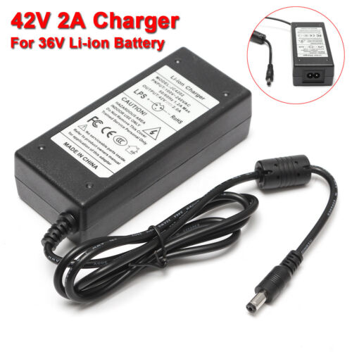 42V 2A Universal Charger Adapter For 2 Wheel Smart Self Balance Scooter 2-Wheel