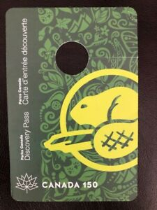 Canada-150-National-Park-Discovery-Pass-Expired-Souvenir