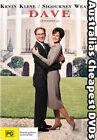 Dave ( Kevin Kline - Sigourney Weaver ) DVD Very Good T131