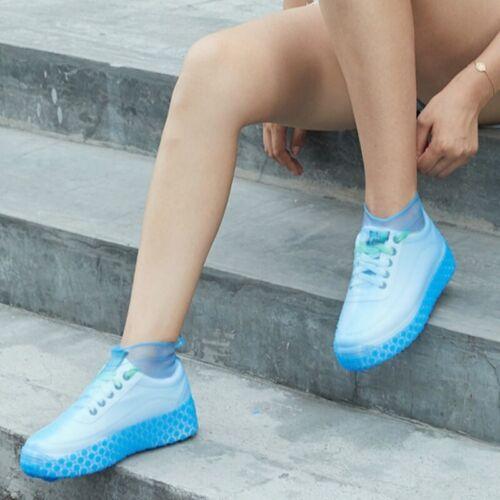 Details about  /Waterproof Shoes Covers Rubber Rain Boots Overshoes Portable Resistant 4 Color A