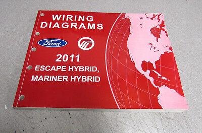 2011 Ford Escape Mercury Mariner Hybrid Electrical Wiring ...