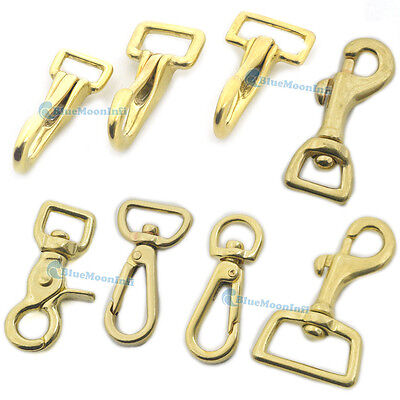 """Gold Swivel Clasp 1//2/"""" Pack of 2 Strap /& Purse hardware Swivel Snaps Hook"""