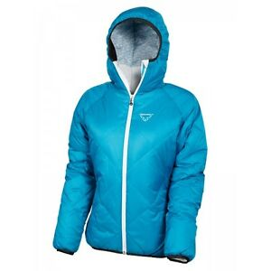 Details zu Dynafit Aurora Down Jacket Women Winter Coat Ski Fiji Blue Size M