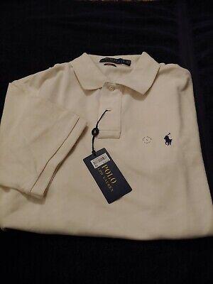 NEW Ralph Lauren L//S Classic Fit Navy Rugby Mesh Polo Shirt Sz L XL 2XL NWT $148