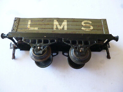 Amabile Hornby Series Open Wagon Grey With White Colour Lms Livery O Gauge - No Box