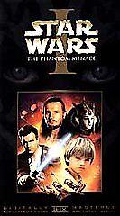 Star Wars Episode I The Phantom Menace VHS, 2000, Widescreen Collectors... - $0.99