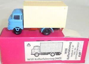 W50-Camion-Mini-Car-Anteriormente-Espewe-Rda-VEB-Emb-orig-H0-1-87-Hn5-A