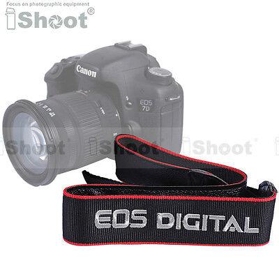 Digital Camera Shoulder/Neck Strap for Canon EOS 600D/550D/500D/450D/400D/350D