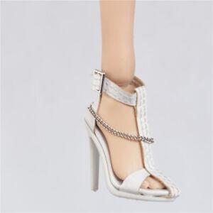 2fc224b1692e31 Shoes Sandals for 1 6 Custom Auction figure Female Tbleague Phicen ...