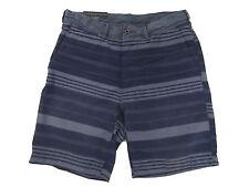 Polo Ralph Lauren Slate Blue Naval Stripe Straight Fit Beach Shorts Pants 32
