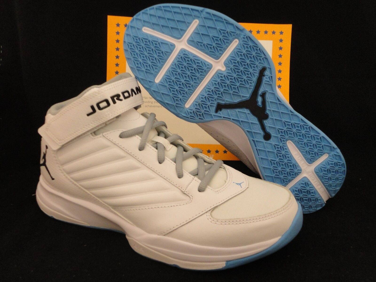on sale d6b9f c6534 ... Size Nike Jordan BCT Mid 3, UNC, White White White   Baby Blue, ...