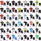 Mens Cycling Outfits Jersey Regular Shorts Kits Bike Shirt  Pad Pants Knicks Set