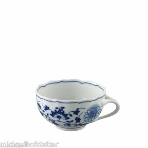 6x-Hutschenreuther-Porzellan-Zwiebelmuster-Blau-Tee-Obertasse-Teetasse-0-22L-NEU