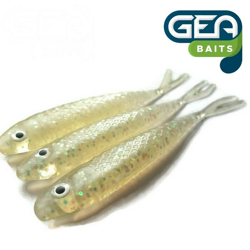 """8x Worms  2.75/"""" Fishing Soft Lures Tackle Baits Jelly"""