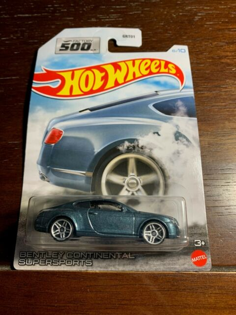Hot Wheels Factory 500 H.P.  BENTLEY CONTINENTAL SUPERSPORTS