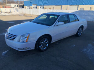 2007 Cadillac DTS Beige Leather