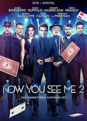 Now You See Me 2 (DVD 2016) Woody Harrelson Mark Ruffalo Jesse Eisenberg Dave Fr