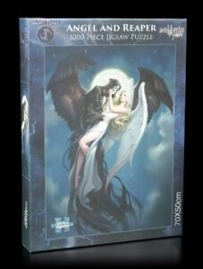 Fantasy-Puzzle-ANGELO-E-IL-MIETITORE-James-Ryman-GRIM-REAPER-QUOTA-1000