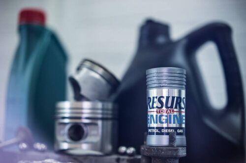 2x RESURS Total Engine Oil Additive Restorer 2x Resurs Automatic Transmission