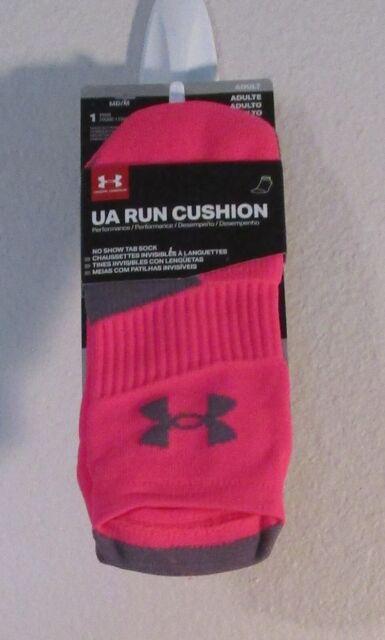 Under Armour UA Run Cushion No Show Tab Running Socks MD ...