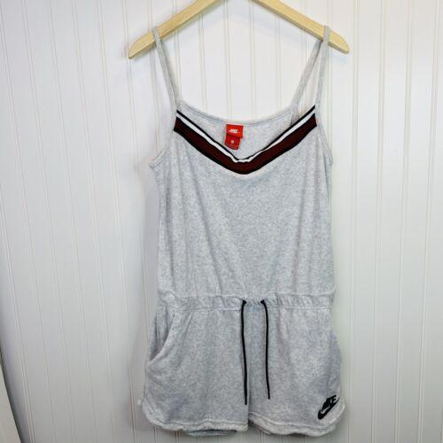 Nike Sportswear Gym Vintage Terry Romper Jumpsuit