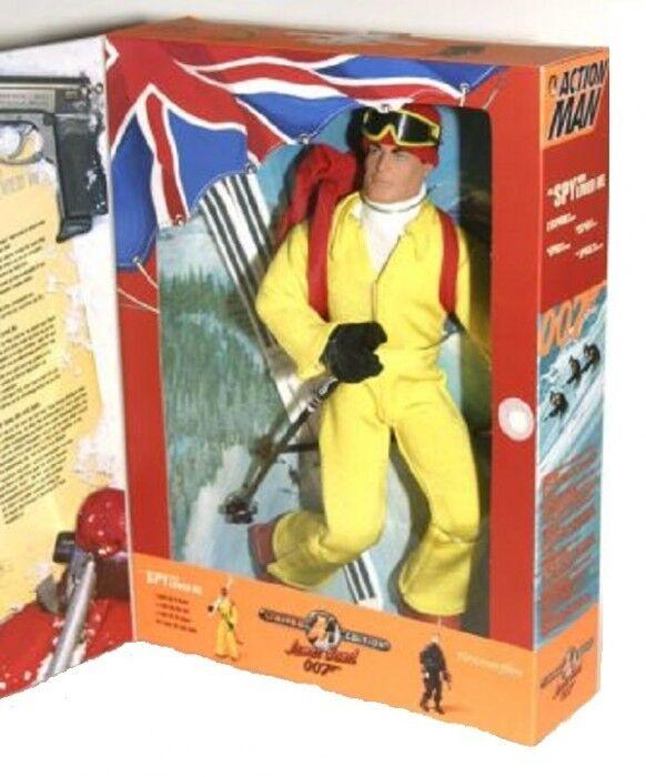 Action Man James Bond 007  The Spy Who Loved me  Hasbro 1999 Rare