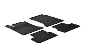Lengenfelder Gummi Fußmatten für Mercedes Benz W176 A-Klasse C117 CLA NEU