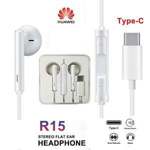 Sony-XZ2-XZ3-Huwaie-P20-Mate20-Type-C-Microphone-Headset-Headphone