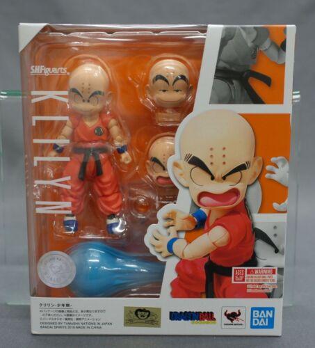 SH S.H. Figuarts Dragon Ball Krillin Kuririn Childhood Kid Bandai Japan New***