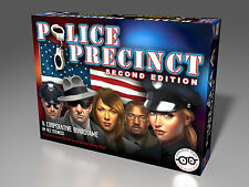 Police Precinct Board Game 2nd Edition NEW/ OUT OF PRINT