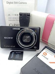Sony-Cyber-shot-DSC-W330-14-1MP-MegaPixel-Cybershot-Digital-Camera-BLACK-14MP